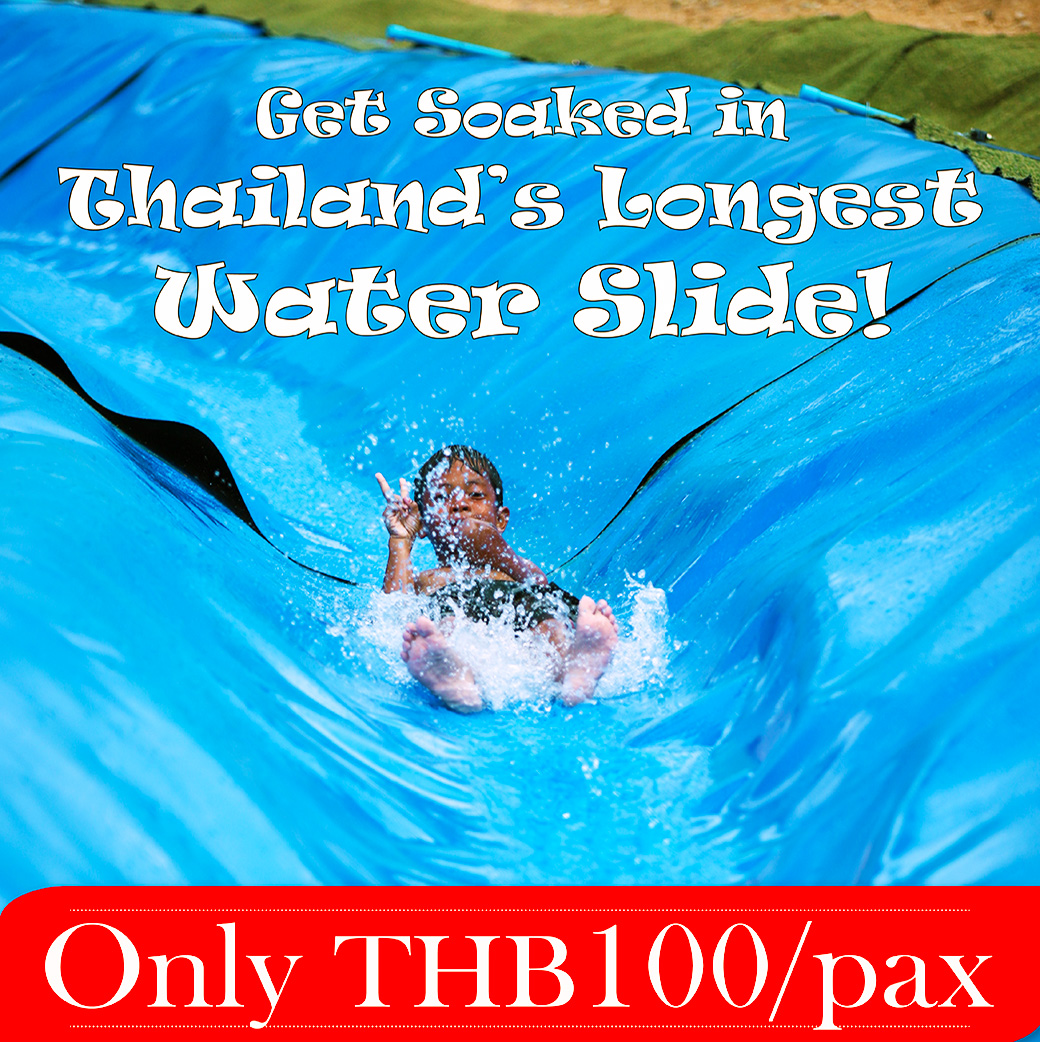 Water Slide and water adventure in Phangnga