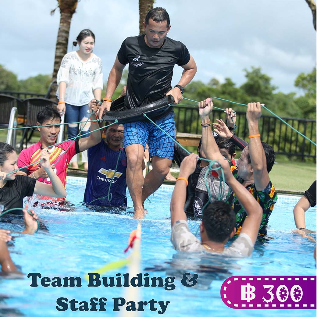 Team-Building & Staff Party near Phuket